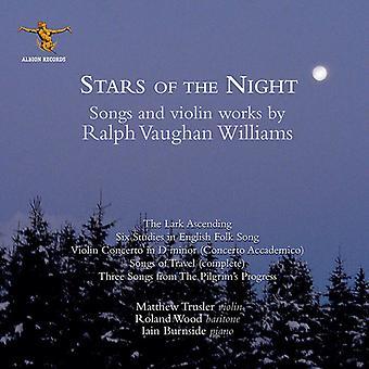 Vaughan Williams / besøg - stjerner af natten [CD] USA importen