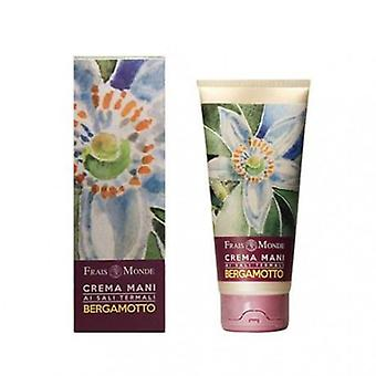 Frais Monde Hand Cream Thermal Salts Bergamot 100ml