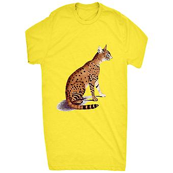 Vida selvagem asiático renomado gato desenho desenho Real Life_vectorized