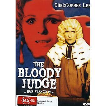 Blodige dommer [DVD] USA importerer
