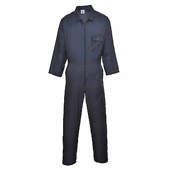 sUw - Nylon Zip ropa de trabajo Overol Boilersuit