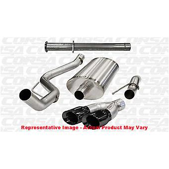 CORSA Performance Cat Back Exhaust 14759BLK Black Fits: FORD 2011 - 2014 F-150
