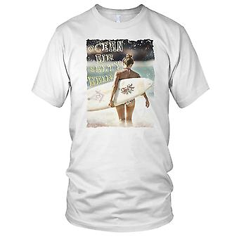 Ocean Air - DJ Beach Ibiza Party Surfer Mens T Shirt