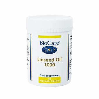 Biocare Linseed Oil 1000mg (flaxseed oil), 90 gel capsules