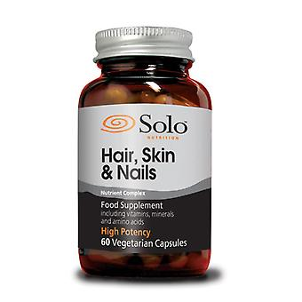 Solo Nutrition, Hair Skin Nails 60 Capsules