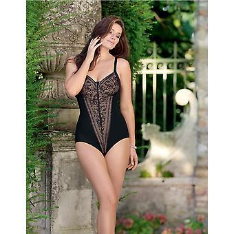 Анита 3555-001 женщин комфорт Fiore черный-мягкий неармированное управления фирмой и среднего Corselette