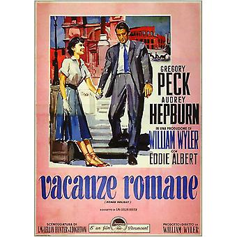 Roman Holiday Movie Poster (11 x 17)