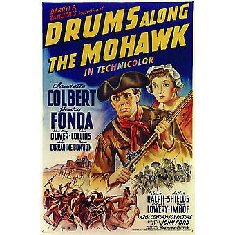 Drums Along the Mohawk Movie Poster (11 x 17)