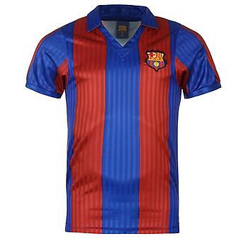 Score Draw maillot domicile de Barcelone 1992