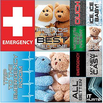 Emergency Room Poster Stickers 12
