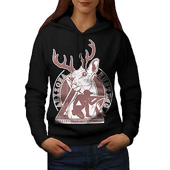 Arizona Hunting Women BlackHoodie | Wellcoda