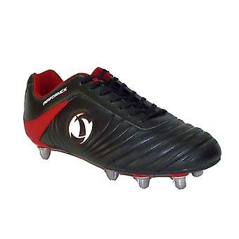 Samurai Katana Rugby Boots Junior [black/red]