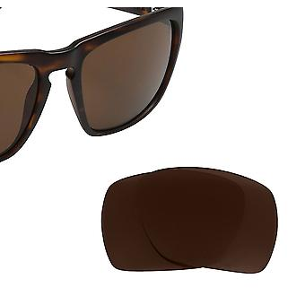 Best SEEK Polarized Replacement Lenses for Electric KNOXVILLE XL Brown Bronze