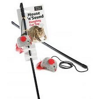 Sharples Ruff 'N' Tumble Mouse 'N' Sound Cat Toy