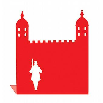 Red Tower of London Landmark Bookend przez Susan Bradley