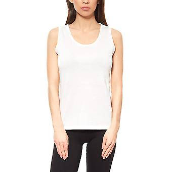 Travel Couture shirt knit top ladies white
