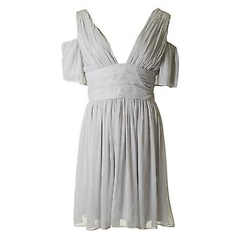 French Connection Constance Drape Cold Shoulder Dress