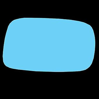 Left / Right Stick-On Blue Mirror Glass for Renault LAGUNA mk2 2001-2007