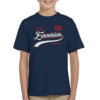 Eurovision Est 56 Portugal Kid's T-Shirt