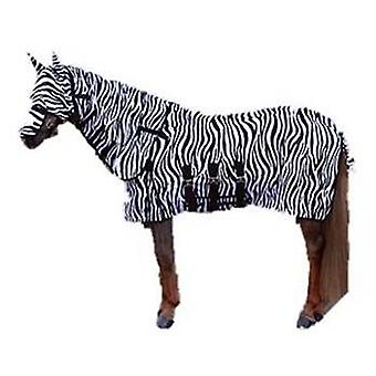 QHP Fly Hood with collar and hood Zebra
