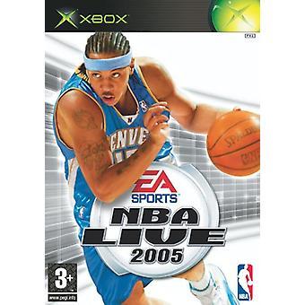 NBA Live 2005 (Xbox) - Factory Sealed