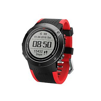 DM18  IP68  Watch - Heart Rate Monitor, App Support, 400mAh, Bluetooth 4.0, Calls, Messages, Pedometer, Sleep Monitor GPS