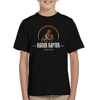 Fortnite Raider Raptor Soldier Class Kid's T-Shirt