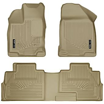 Husky Liners Front & 2nd Seat Floor Liners Fits 07-14 Edge, 07-15 MKX