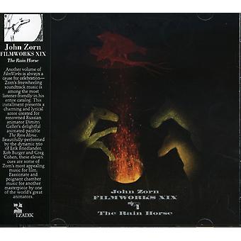 John Zorn - Filmworks Xix: The Rain paard [CD] USA import