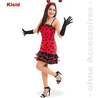 Biedronka kostium Panie lady bug biedronki pomimo chrząszcz Pani kostium