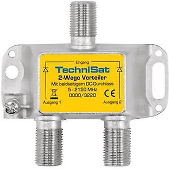 TechniSat 0000/3220 SAT-Splitter 2-Wege