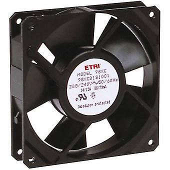 Ecofit 98XH0181000 Axial fan 240 V AC 1860 l/min (L x W x H) 119 x 119 x 25.9 mm