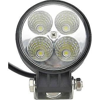 SecoRüt 12 W 95524 Working light 12 V, 24 V Close range illumination (Ø x H) 84 mm x 111 mm 600 lm 6000 K