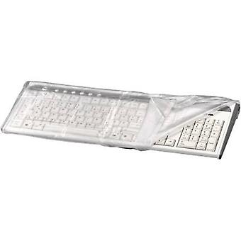 Hama Keyboard dust cover 42200 Transparent (L x W x H) 216 x 483 x 51 mm