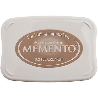 Memento Dye Ink Pad-Toffee Crunch