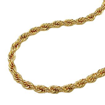 Chain 45 cm necklace 2 mm 9Kt GOLD