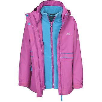 Trespass Girls Tiara Waterproof Breathable Insulated 3 in 1 Jacket