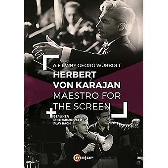 Herbert Von Karajan - Maestro for the Screen [DVD] USA import
