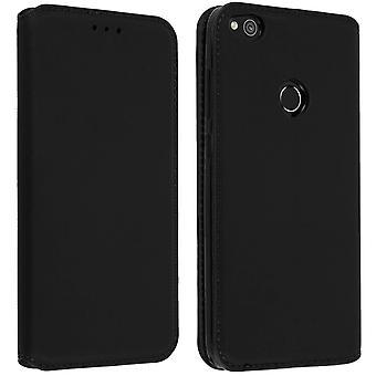 Klassiek geval van Edition met kaartslot voor Huawei P8 Lite 2017, eren 8 Lite-zwart