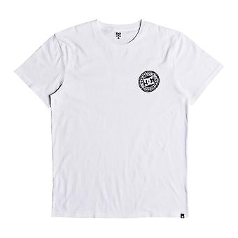 DC Circle Star Rear Print Short Sleeve T-Shirt