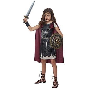 Fearless Gladiator Spartan Medieval Renaissance Roman Warrior Girls Costume
