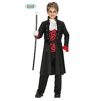 Guirca elegant vampire costume Halloween Count Dracula junior kids costume