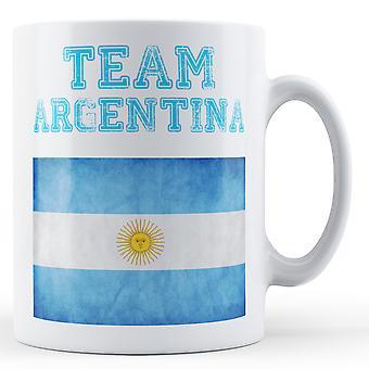 Equipe Argentina - caneca impressa