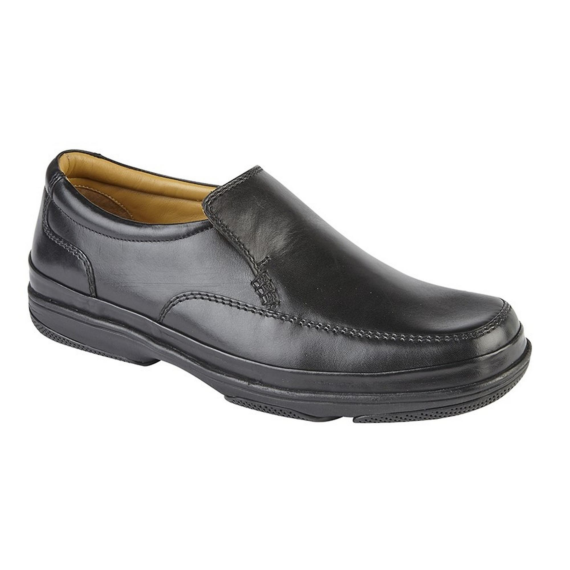 Roamers Mens large Superlight Deluxe cuir chaussures