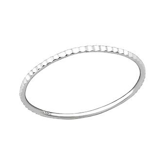 Band - 925 Sterling Silver Plain Rings - W34907X