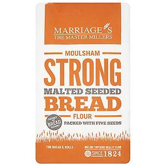 Ehen Moulsham gemälzte Brown ausgesät Brotmehl