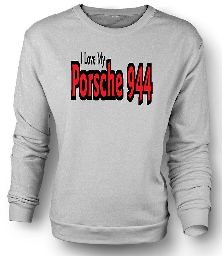 Mens Sweatshirt I Love My Porsche 944 - Car Enthusiast
