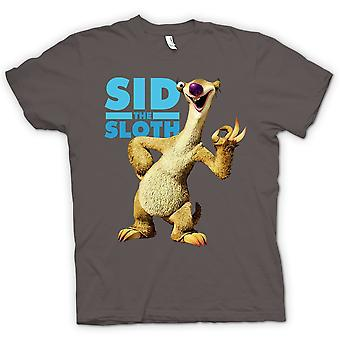 Mens T-shirt - Ice Age - Sid The Sloth