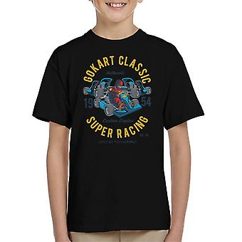 Go Kart Classic Super Racing Kid's T-Shirt