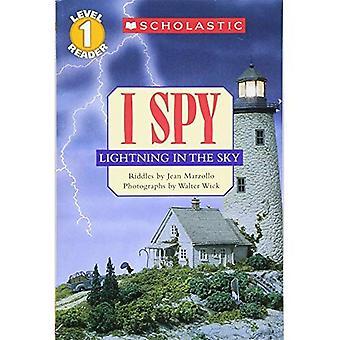 I Spy bliksem in de hemel (niveau 1): I Spy bliksem in de hemel (scholastische Reader)